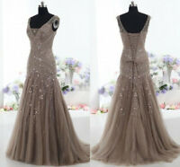 Plus Size Dress Lace Corset Party Evening Formal Gown Mother Of The Bride Custom