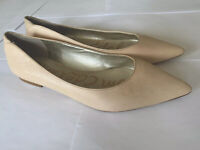 Sam Edelman Leather Spring Blush pink flats Rae pointed toe Size 7.5