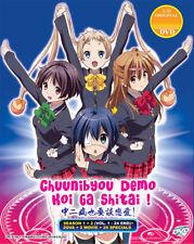 Chuunibyou Demo Koi Ga Shitai! DVD S1+S2+2ova+2movie+26sp DUB USseller ShipFAST