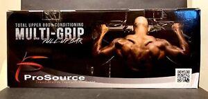 ProSource Multi-Grip Chin-Up Pull-Up Bar Heavy Duty Doorway Trainer NIB