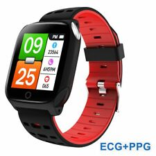 Full Touch Bluetooth Smart Watch Men ECG+PPG Heart Rate Blood Pressure Monitor