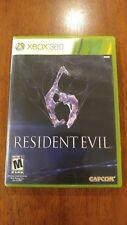 Resident Evil 6 (Microsoft Xbox 360, 2012) MINT 2-DISC SET! MAIL IT TOMORROW!