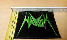 HAVOK GREEN PATCH THRASH METAL ; SLAYER ; Municipal Waste ; METALLICA