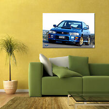 SUBARU IMPREZA WRX STI GC8 FIRST GEN AUTOMOTIVE LARGE HD POSTER 24x36in