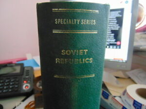 Valuable Russia collection in Scott Specialized album