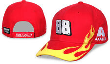 Dale Earnhardt Jr 2016 Checkered Flag Sports #88 Axalta Flame Hat FREE SHIP!