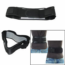Infrared Magnetic Lower Pain Relief Back Support Lumbar Brace Belt Pull Strap