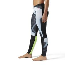 Womens Reebok Crossfit Compression Tight Heliorig Print Size Large