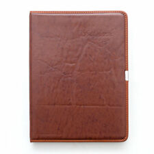 A4 NEW LEATHER LINED NOTEPAD NOTEBOOK NOTE BOOK NOTES JOURNAL DIARY GIFT XMAS