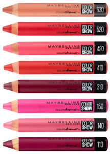 MAYBELLINE Color Drama Intense Crayon Lip Pencil SEALED - various shades