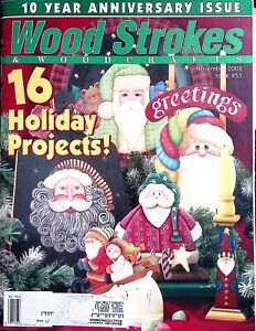 Wood Strokes Magazine November 2002 Issue #55 Quick and Easy Projects to Paint