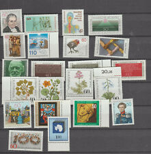 Germany 1981 Commemoratives  selection MNH