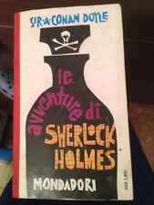 LE AVVENTURE DI SHERLOCK HOLMES - A. CONAN DOYLE - MONDADORI 1961