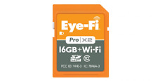Eyefi and Sandisk Pro X2 Wifi SD Card 16gb 8gb With Working Upload Key