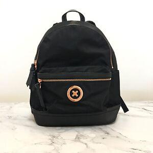 FREE POST MIMCO BLACK ROSE GOLD Splendiosa Bag Backpack School Bag NEW RRP$199