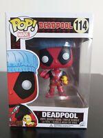 Marvel Funko Pop - Deadpool (Bath Time)  - Deadpool - No. 114