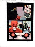 Original 1996 Daredevil 357 page 19 Marvel Comics color guide art: Marvelmania!