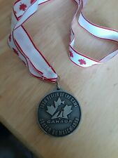 1998 Hockey Canada Women's National Championship Player of The Game Medal