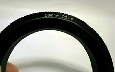 58mm Macro Close-Up Reverse Lens Adapter Ring For Canon EOS R Cameras RF mount