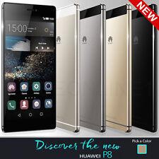 "Huawei P8 Gold GRA-UL00 Dual SIM (FACTORY UNLOCKED) 5.2"" Full HD ,16GB  Champagn"