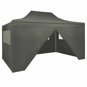 Folding Pop Up Tent Outdoor Party Festival Event Canopy Gazebo With Walls 3x4.5m
