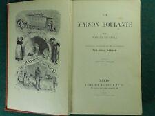 LA MAISON ROULANTE MME DE STOLZ 1891 BIBLIOTHEQUE ROSE