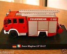CAMION POMPIER IVECO MAGIRUS LF 16-12 1/72 FIRE FIGHT DELPRADO FEUERWEHR 112