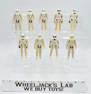 Lot of 9 Imperial Stormtrooper Star Wars 1977 Vintage Kenner Action Figure