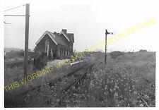 Pinxton Railway Station Photo. Pye Hill & Somercotes Line. GNR. (4)