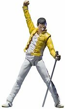 "Bandai Tamashii Nations Freddie Mercury ""Singing Artist"" Action Figure NIB"