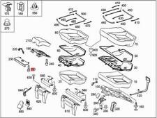 Genuine Mercedes Screw 5pcs  W222 V222 X222 0019845529