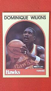 Dominique Wilkins 1989 NBA Hoops Super Stars SEARS RARE PARALLEL