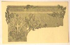 Cartolina 1° Reggimento Artiglieria Da Montagna - Nulla Via Invia