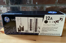 HP Q2612A 12A LASERJET Toner Cartridge NEW SEALED BOX