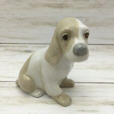 Vintage Miquel Requena Valencia Spain Ceramic Dog Spaniel Figurine
