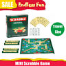 Mini Original Scrabble Board Game Family Kids Adults Educational Toy Puzzle Game