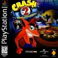 Complete Crash Bandicoot 2 Cortex Strikes Back - Original Sony PS1 Game