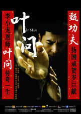 GRANDMASTER YIP MAN Movie POSTER 27x40 Chinese Donnie Yen Simon Yam Siu-Wong Fan