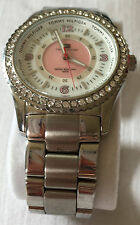 Tommy Hilfiger Ladies Whit & Pink Face (with surrounding Diamontes) Watch