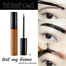 FABLASHOUS Light Brown Eyebrow Tint Eye Brows Peel Off Thick Tinting Korea Tude