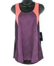 NEW Under Armour Womens Size XL Fitted Purple HeatGear Vanish Mesh Tank Top NWT