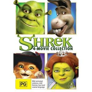 SHREK : The COMPLETE 1 2 3 4 Movie Collection : NEW DVD