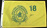 JACK NICKLAUS SIGNED 2001 ATLANTA PGA CHAMPIONSHIP PIN FLAG MASTERS PROOF J10