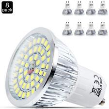 8x GU10 Energiespar LED Lampen,6w Leuchtmittel Spot Strahler Kaltweiß