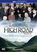 TAKE THE HIGH ROAD VOLUME 8 EPISODES 43-48 DVD Edith MacArthur UK Release New R2