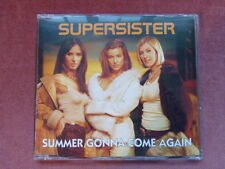Supersister 'Summer Gonna Come Again' CD (2001) Rare Promotional Copy