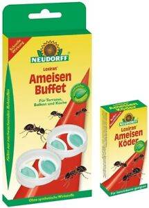 NEUDORFF 1x Loxiran - Ameisen Buffet + 1 x Nachfüllpack Wirkstofflösung