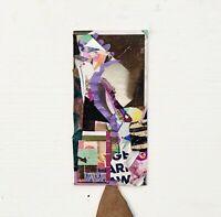 """Colloidal"" Small Abstract Collage Painting - Steven Tannenbaum Original Art"