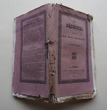 Les Jésuites en présence des deux chambres. Deuxième édition. Paris, Dentu, 1828