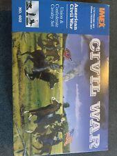 Union & Confederate Cavalry Set Civil War Imex 1/72 Scale Plastic Soldiers #602